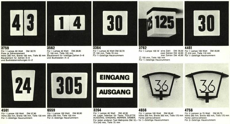 Idealux BEGA 1964
