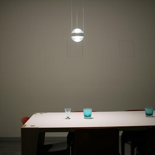 Idealux Cini&Nils Sferico sospeso trasparente