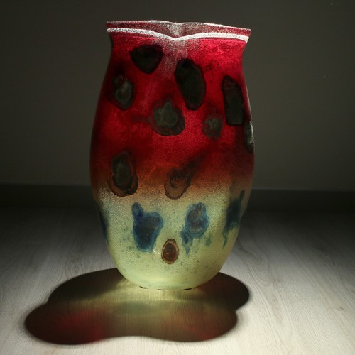 Idealux Barbini Murano Vaso Salinizzato Acidato
